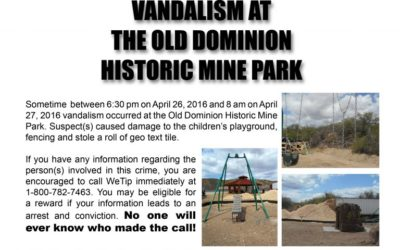 Vandalism: Arizona Children's Park